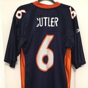 Denver Broncos JAY CUTLER Reebok Jersey Mens Large